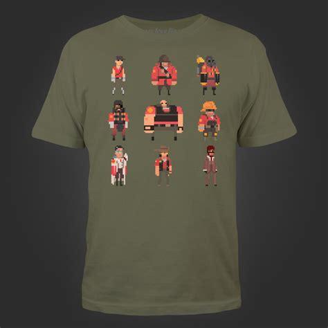 T Shirt Team Screet Dota Harmony Merch valve store team fortress pixel