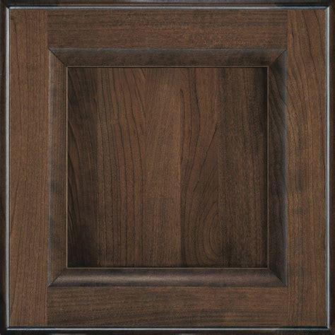 Decora Cabinet Doors Decora 14 5x14 5 In Cabinet Door Sle In Huchenson Mink Espresso 772515380495 The Home Depot