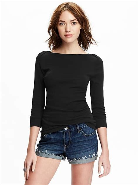 old navy boat neck tops old navy womens 3 4 sleeve boat neck tops from old navy need