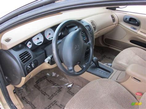 camel interior 1999 dodge intrepid standard intrepid