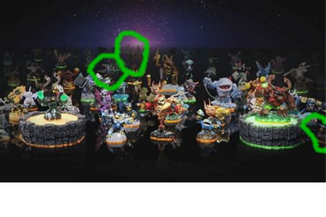 Kaos Real Zone 2 image 1 skylanders giants collection 2 drobot is circled
