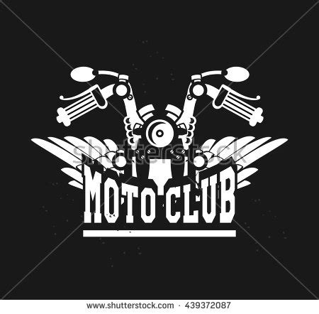 Motorcycle Logo Stock Images Royalty Free Images Vectors Shutterstock Motorcycle Club Logo Template Free