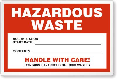 printable hazardous material label downloadable hazardous waste labels pictures to pin on