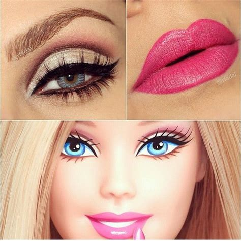 tutorial make up barbie sederhana best 25 barbie makeup ideas on pinterest