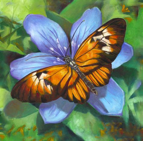 painting butterfly orange piano key butterfly by nancy tilles
