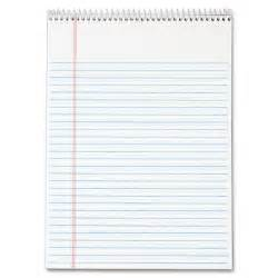 tops wirebound writing pad ld products