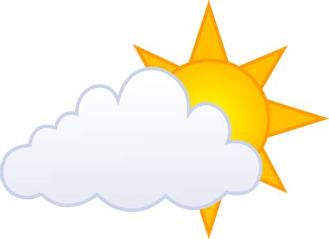 Partly Cloudy Clipart partly cloudy clipart clipartion
