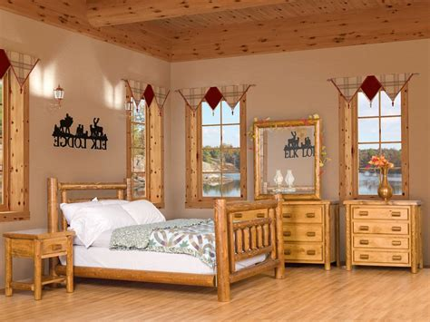 Bedroom Log Sets Cedar Bunk Bed Rustic Furniture Discount Log Bedroom Furniture