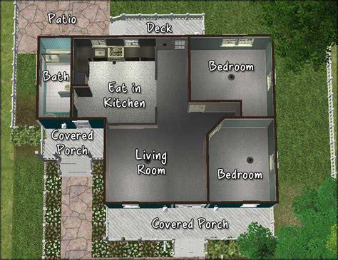 Octagon Cabin mod the sims cozy cape cod cottage
