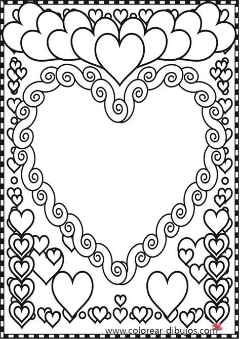 imagenes de corazones para iluminar dibujos de corazones para colorear corazones dibujos para