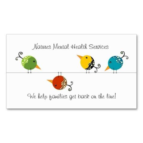 counselling business cards templates 176 best images about mental health counselor business