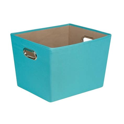 decorative storage bins honey can do 38 3 qt medium decorative storage bin with