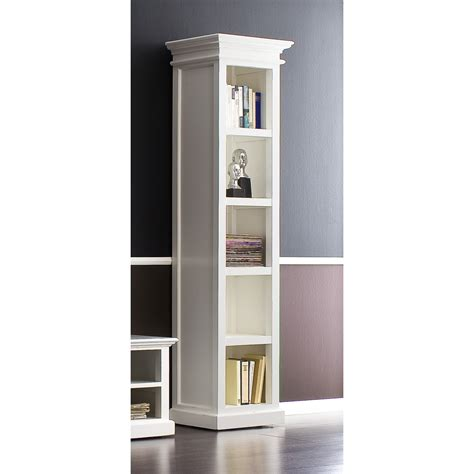 white distressed bookcase halifax solid mahogany wood bookcase in white distressed