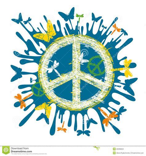 imagenes de simbolos hippies s 237 mbolo de paz del hippie
