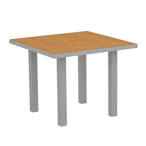 36 Inch Square Dining Table Polywood 174 36 Inch Square Dining Table At36