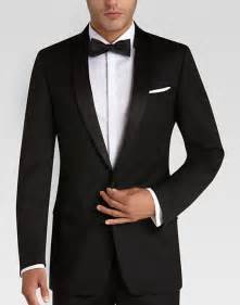 Mens Wearhouse Black Slim Fit Tuxedo S Tuxedos Calvin Klein