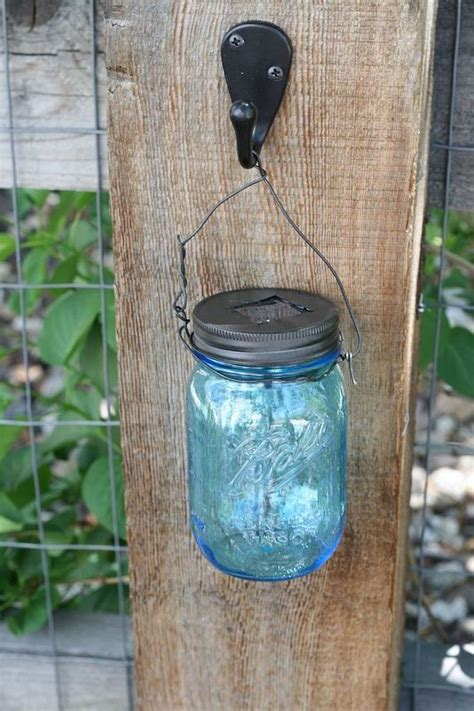 jar solar lights diy 25 best ideas about fence post crafts on