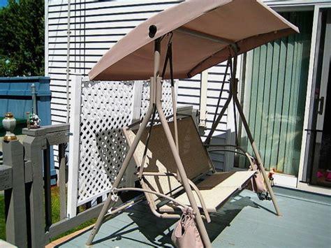 garden treasures 2 seat swing garden treasures 2 seat swing canopy garden ftempo