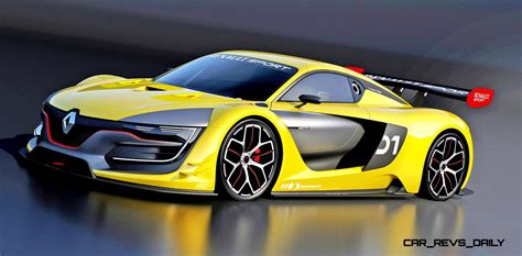 RenaultSport R.S. 01 Racecar Sets Tone for Sport Trophy