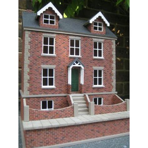 1 24 scale dolls houses willow cottage with basement 1 24 scale dolls house dhw80