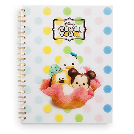 Tsum Tsum Weekly Journal disney stationery to get in the back to school mood