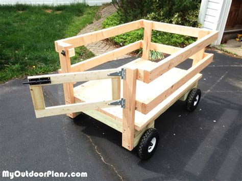 diy wagon diy lawn mower wagon diy plans lawn mower