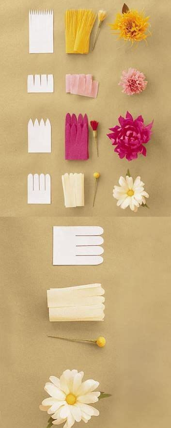 easy crafts paper flowers and craft ideas on