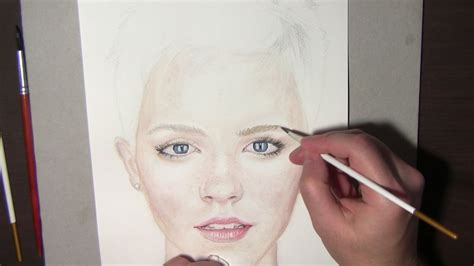 watercolor tutorial face watercolor portrait tutorial how to steps and tips emma