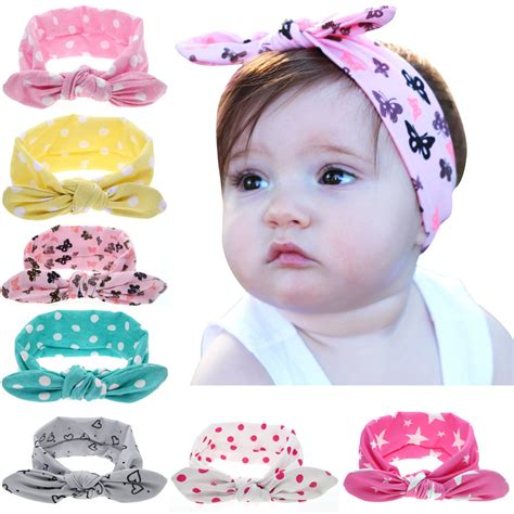 44 best baby hair accessories images on dot bowknot print floral headbands newborn infant
