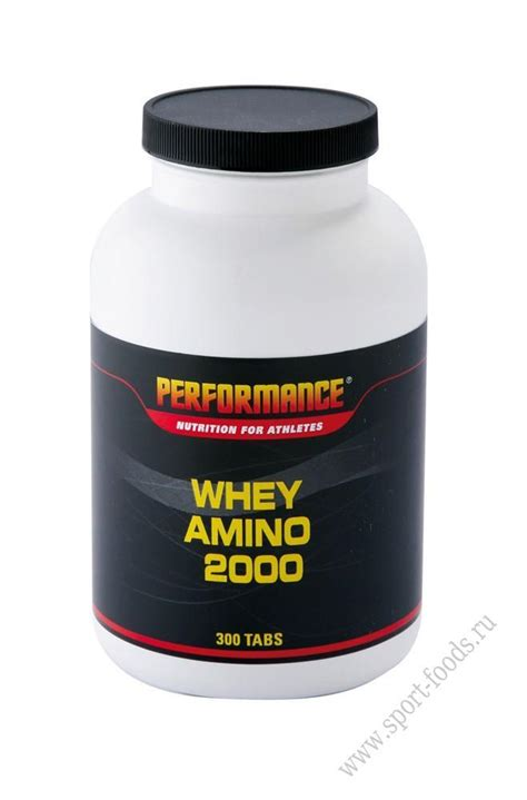 Whey Amino 2000 Whey Amino 2000 300 Performance