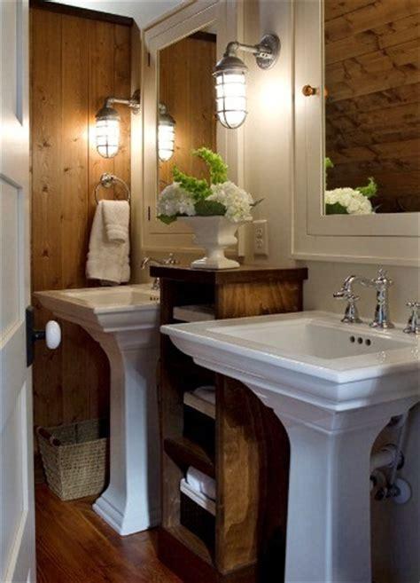 rustic bathroom sconces rustic sconces delightful touch in tight bathroom space