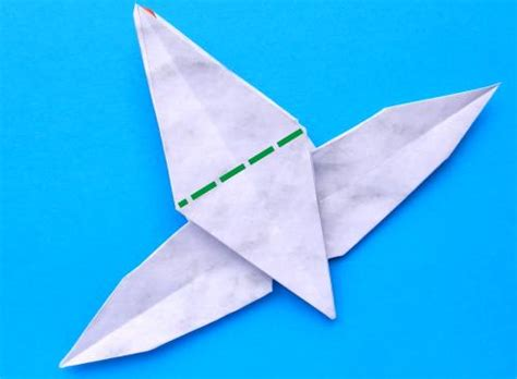 Origami Goose Diagrams - joost langeveld origami page