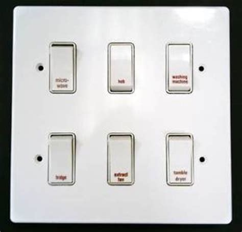 Grid Switch 8 Crabtree Grid Switch Kitchen Multi Switch Units Ebay