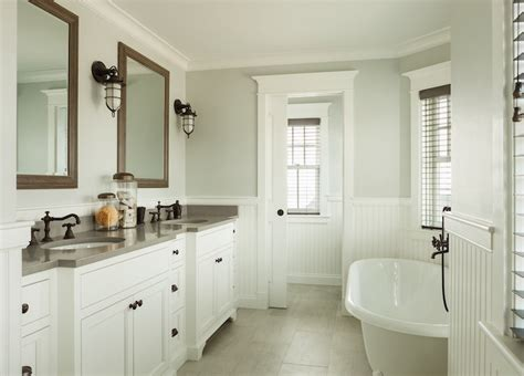 Cottage Wainscoting by Beadboard Wainscoting Cottage Bathroom Js Interiors