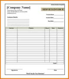 Free Printable Invoices Templates Blank by Doc 400518 Free Blank Printable Invoice Blank Invoice