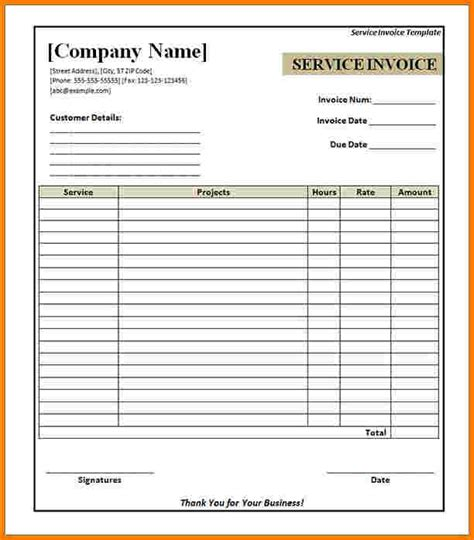download invoice template print free rabitah net