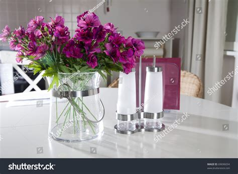 artificial flower decoration for home artificial flower home decoration stock photo 69696034