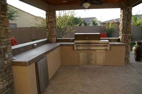 Outdoors Kitchens Designs Outdoor Kitchen Gilbert Az Photo Gallery Landscaping Network