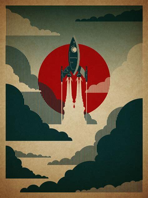 design poster to print rocket posters pinterest
