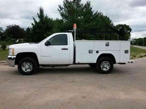 chevrolet 2500hd 4x4 2008 utility service trucks