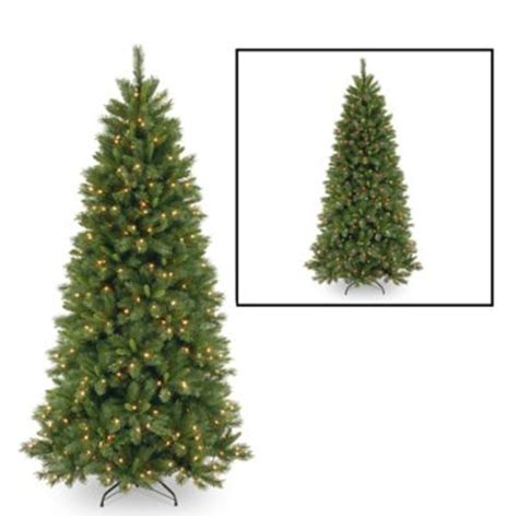 national tree 7 5 foot lehigh valley slim pine christmas