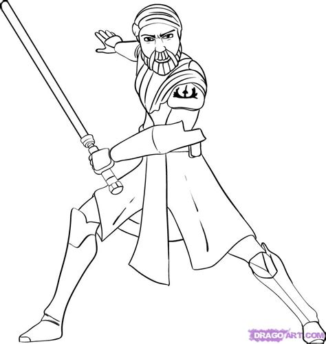 free coloring pages lego star wars obi wan