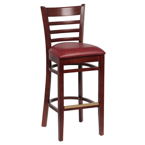 royal industries bar stools royal industries roy 8002 w crm ladder back bar stool w