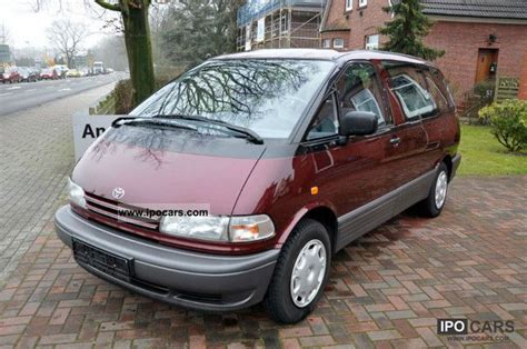 Toyota Previa 1996 1996 Toyota Previa Car Photo And Specs