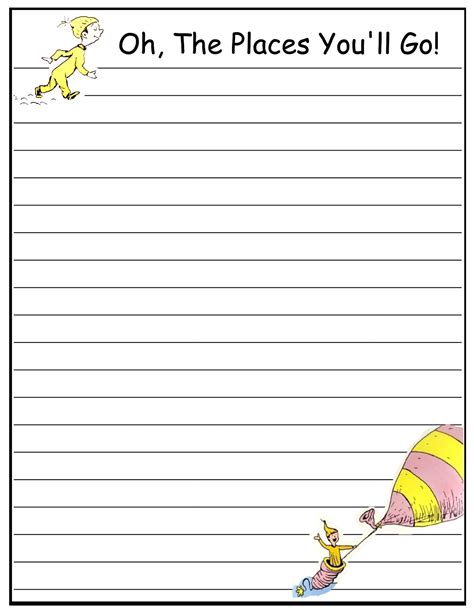 for writing papers writing paper printable for children activity shelter