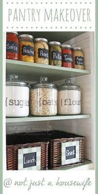 not just kitchen ideas organized pantry ideas not just a house for my