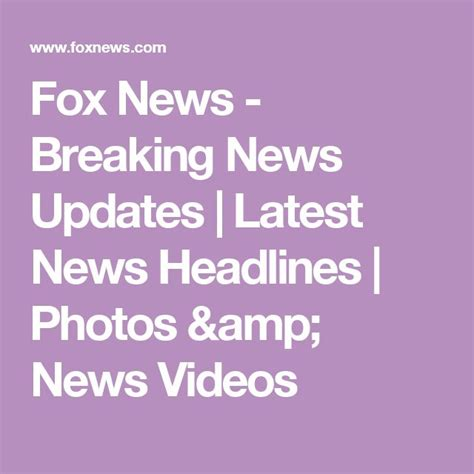 fox news breaking news updates latest news headlines fox news breaking news updates latest news headlines