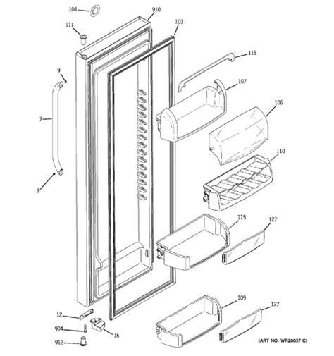 28 ge adora refrigerator wiring diagram 188 166 216 143