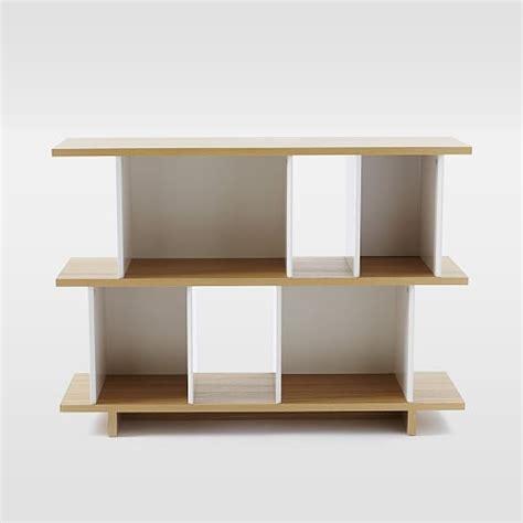 boxes planes bookshelf west elm