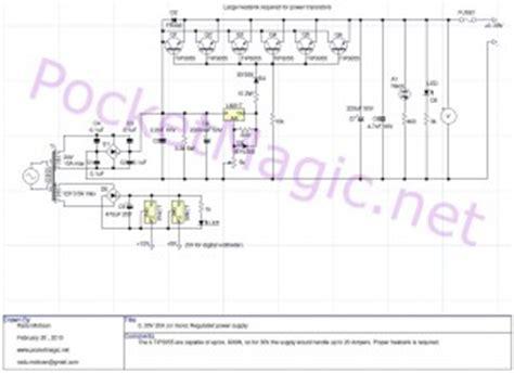 Voltmeter Acdc 30volt variable regulated power supply pocketmagic